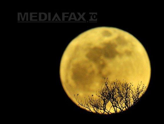 """Imaginea articolului """"Luna albastră"""" de Halloween, fenomen rar, dar """"înfricoşător"""" pentru noi toţi"""