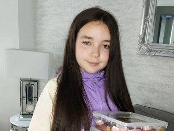 Şefă la doar 10 ani. INEDIT. O fetiţă are propria afacere înfloritoare