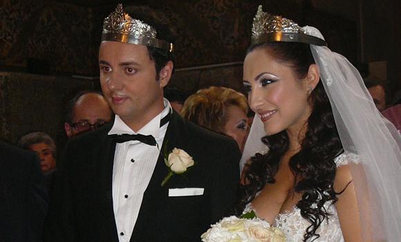 Andra şi Cătălin Măruţă s-au căsătorit religios, în luna august 2008