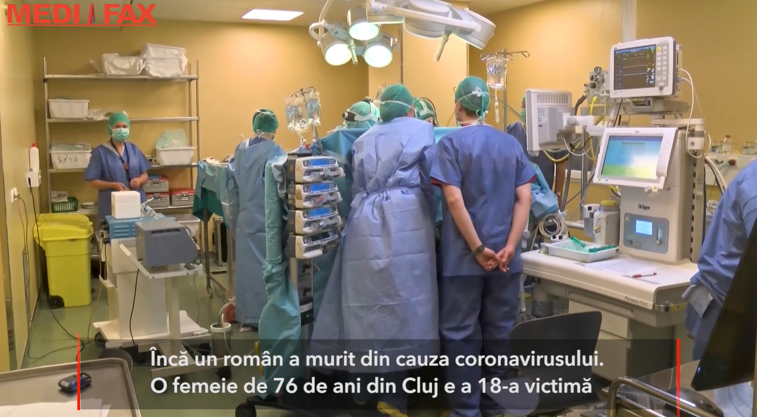 Imaginea articolului Romania: The 18th death from coronavirus, recorded in Huedin