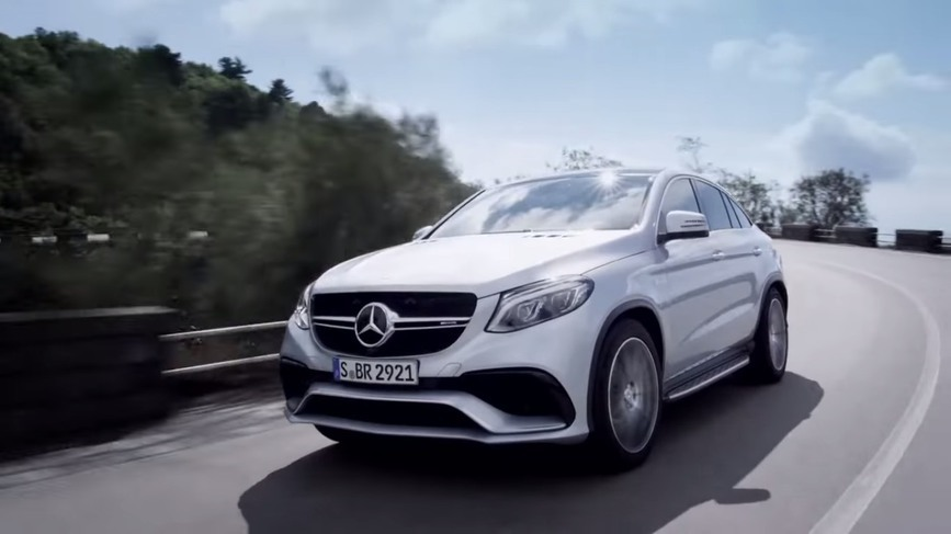 Mercedes-Benz GLE63 AMG Coupe, dezvăluit într-un teaser video