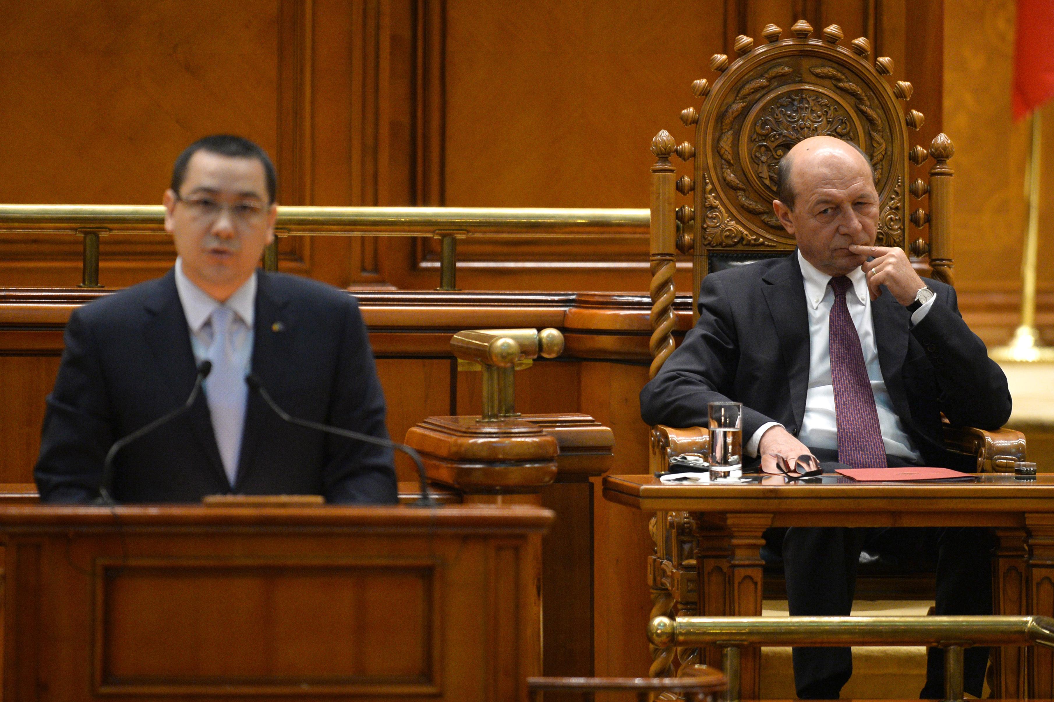 Înregistrarea discuţiei dintre Băsescu, Ponta şi Petrescu, publicată de către Preşedinţie. VIDEO