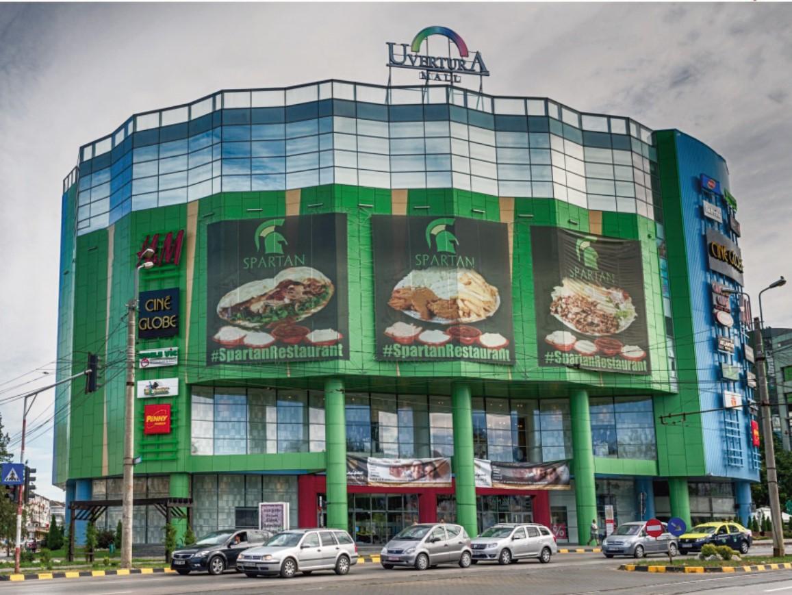 Uvertura Mall din Botoşani, în reorganizare, are o treime din suprafaţă inactivă. Veniturile din chirii au scăzut cu 53% în primul semestru din 2020 faţă de S1/2019