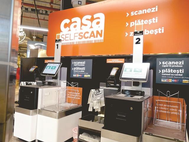 ANALIZĂ ZF. Casele de marcat de tip self-scan îşi fac loc treptat şi în magazinele retailerilor de bricolaj din România