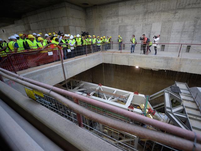 A început forajul la magistrala de metrou Drumul Taberei – Eroilor, cel mai mare proiect al Capitalei de după revoluţie