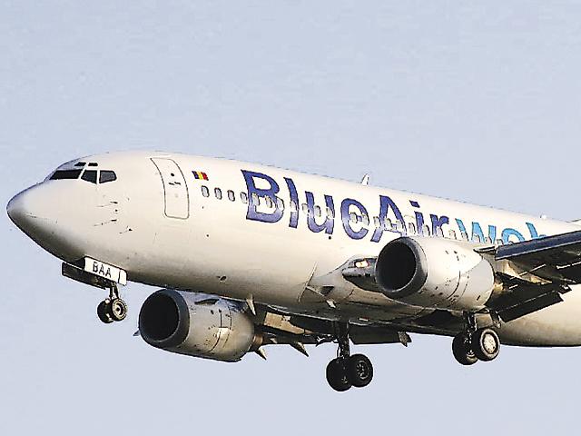 Blue Air creşte frecvenţa zborurilor pe Bucureşti-Cluj Napoca la două curse zilnic