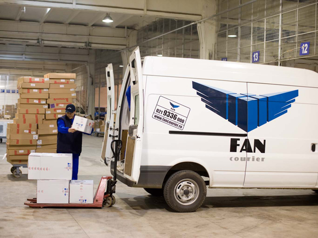 FAN Courier inaugurează primul hub regional la Braşov, după  o investiţie de 5 milioane de euro