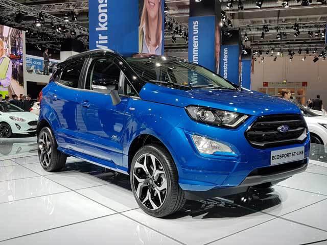 Ford a produs primele modele EcoSport la Craiova, iar primele maşini vor fi vândute oficial la începutul anului viitor