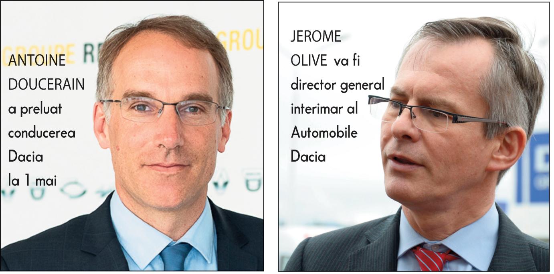 Antoine Doucerain pleacă de la conducerea Automobile Dacia după nici şase luni de mandat