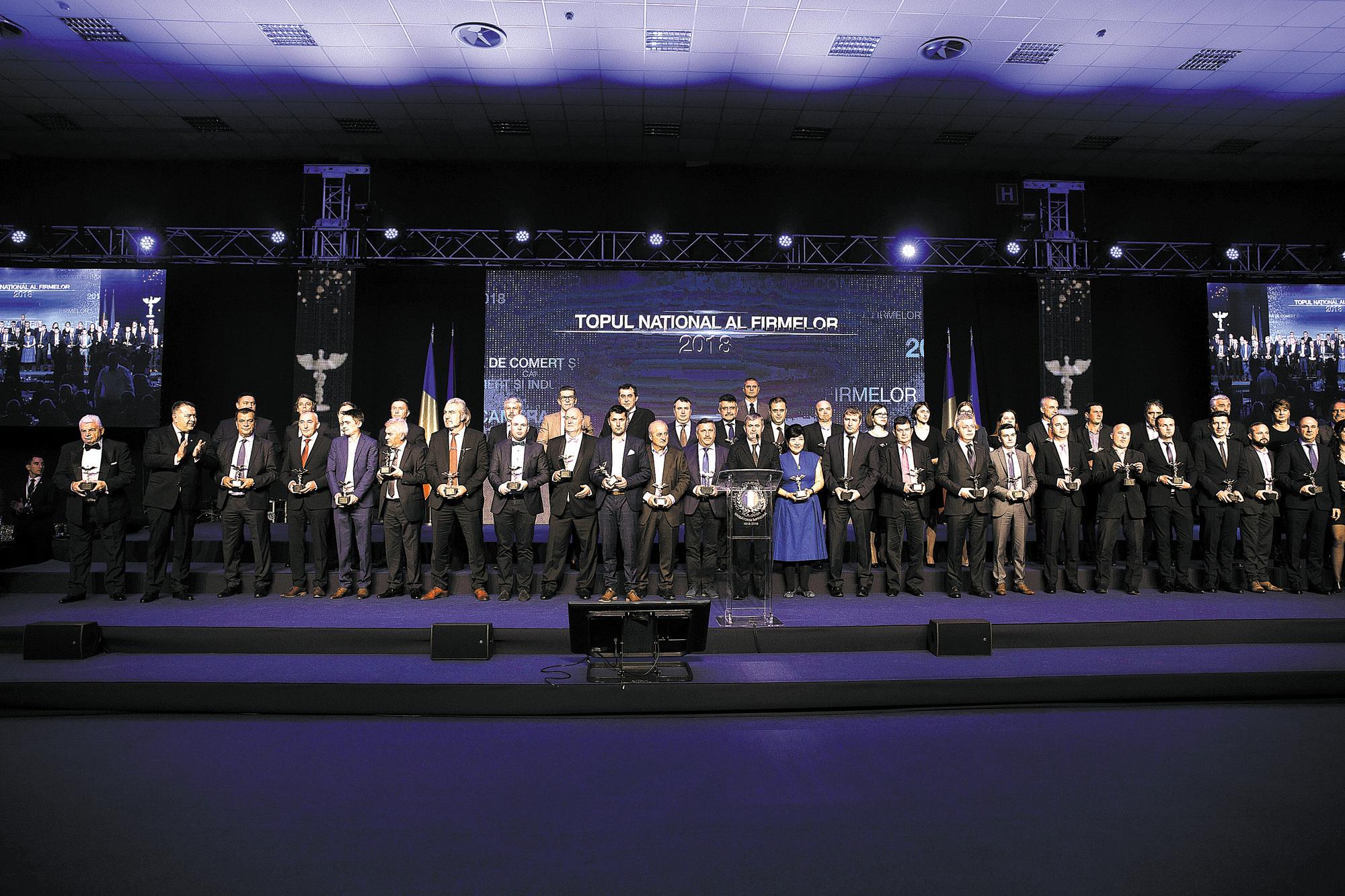 Topul naţional al firmelor 2018 - CCIR: Mihai Daraban, preşedinte al CCIR: În 1994 premiam 759 de firme. Astăzi premiem 12.472 de companii, dar economia este foarte polarizată