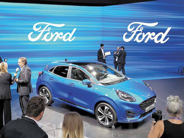Ford introduced in Frankfurt the new Puma, the SUV, which is
