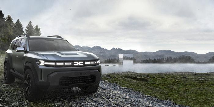 Revoluţie la Dacia: Un SUV de 4,6 metri lungime şi o creştere a preţurilor de 30%. Cum arată BIGSTER, viitorul SUV compact de la Dacia. Galerie FOTO