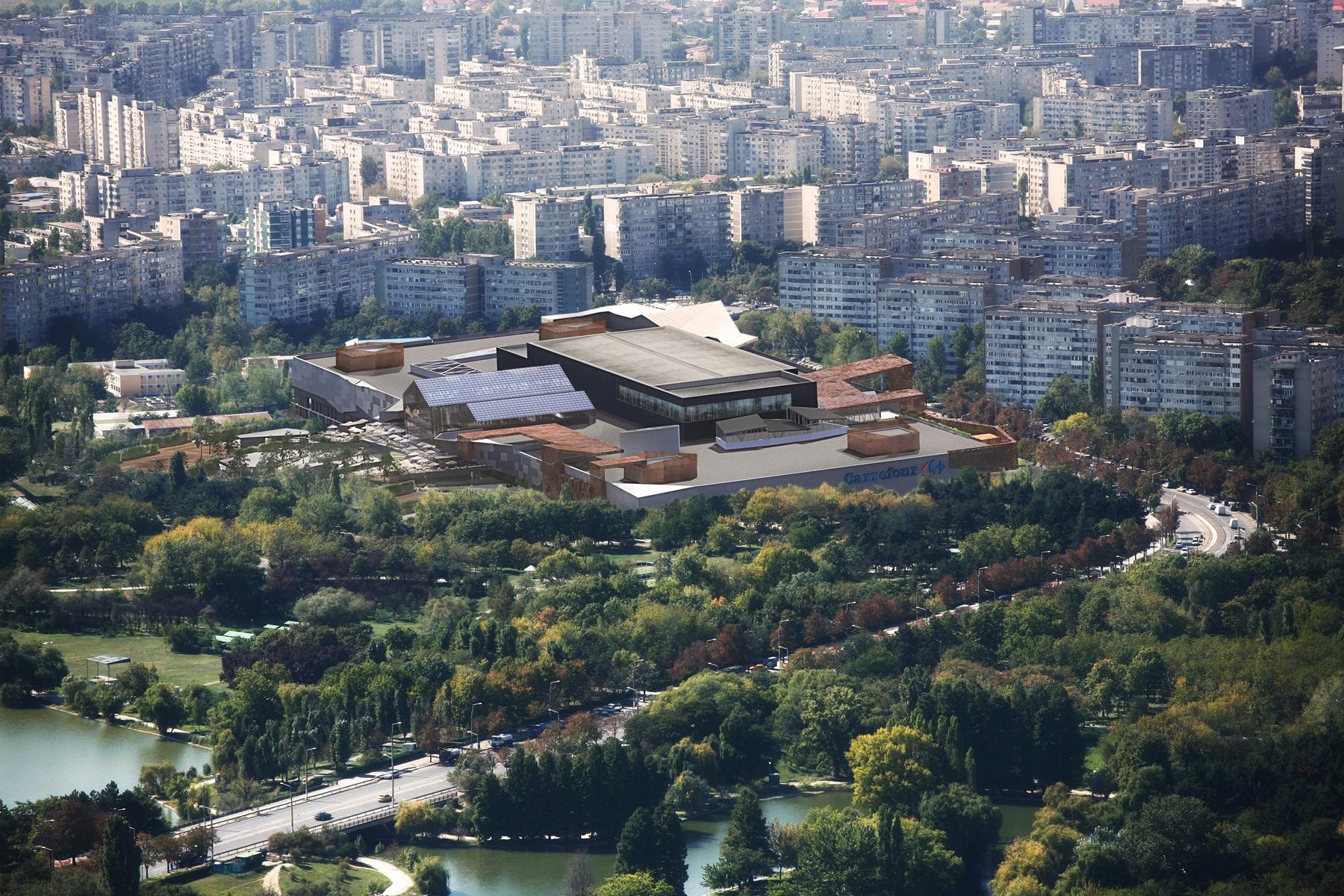 Dezvoltatorii mall-ului ParkLake din cartierul Titan iau un credit de peste 80 mil. euro de la bănci din Ungaria şi Austria pentru a finanţa centrul comercial