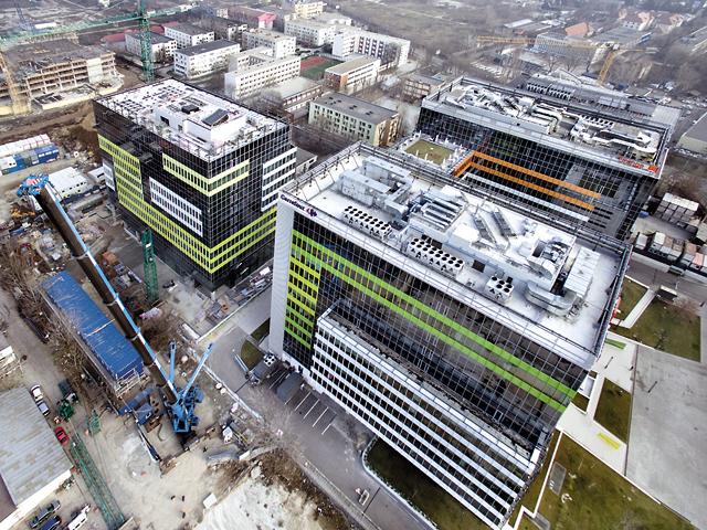 Spaţiile de birouri din Bucureşti au ajuns la peste 2,5 milioane de metri pătraţi