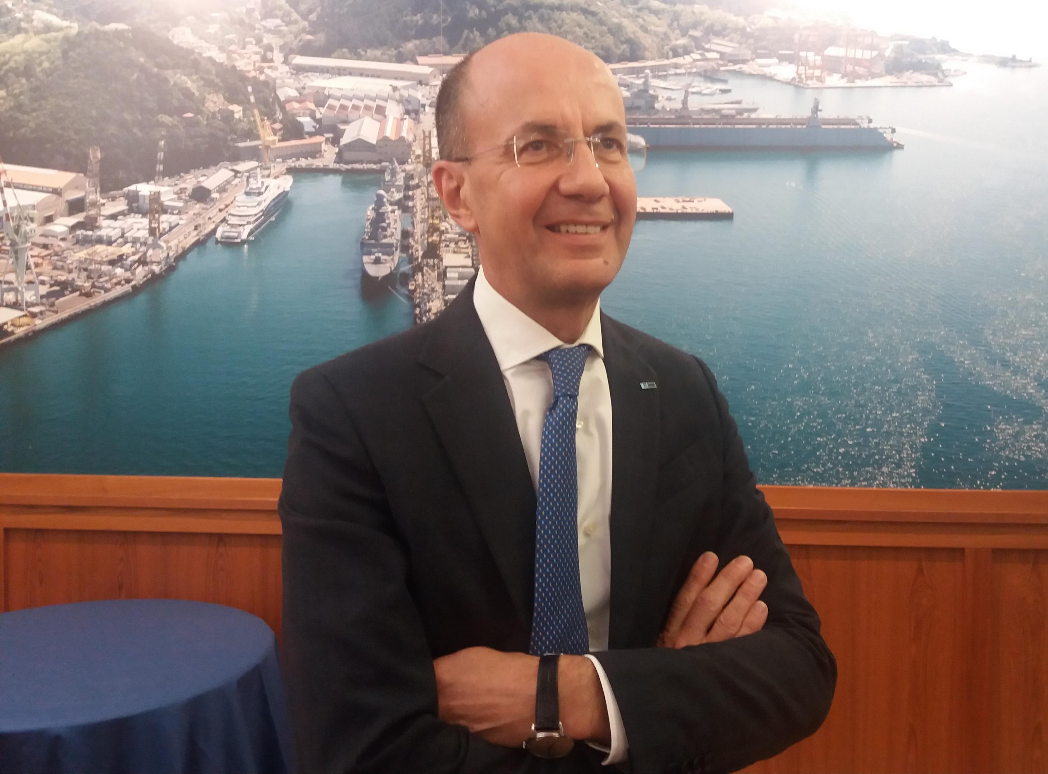 """Alberto Maestrini, directorul general Fincantieri: """"Dacă închizi şantierul naval Tulcea, închizi Fincantieri. Nu am mai putea livra nave de croazieră"""""""