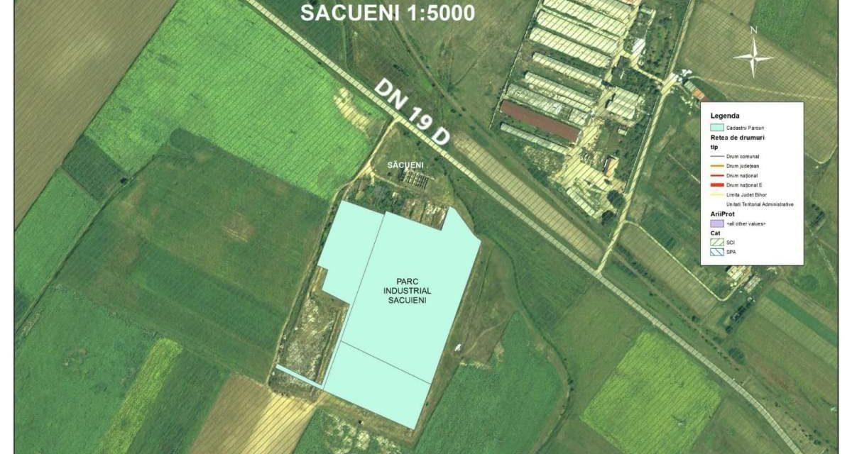 CJ Bihor va realiza un parc industrial de peste 5 hectare, la 46 km de municipiul Oradea
