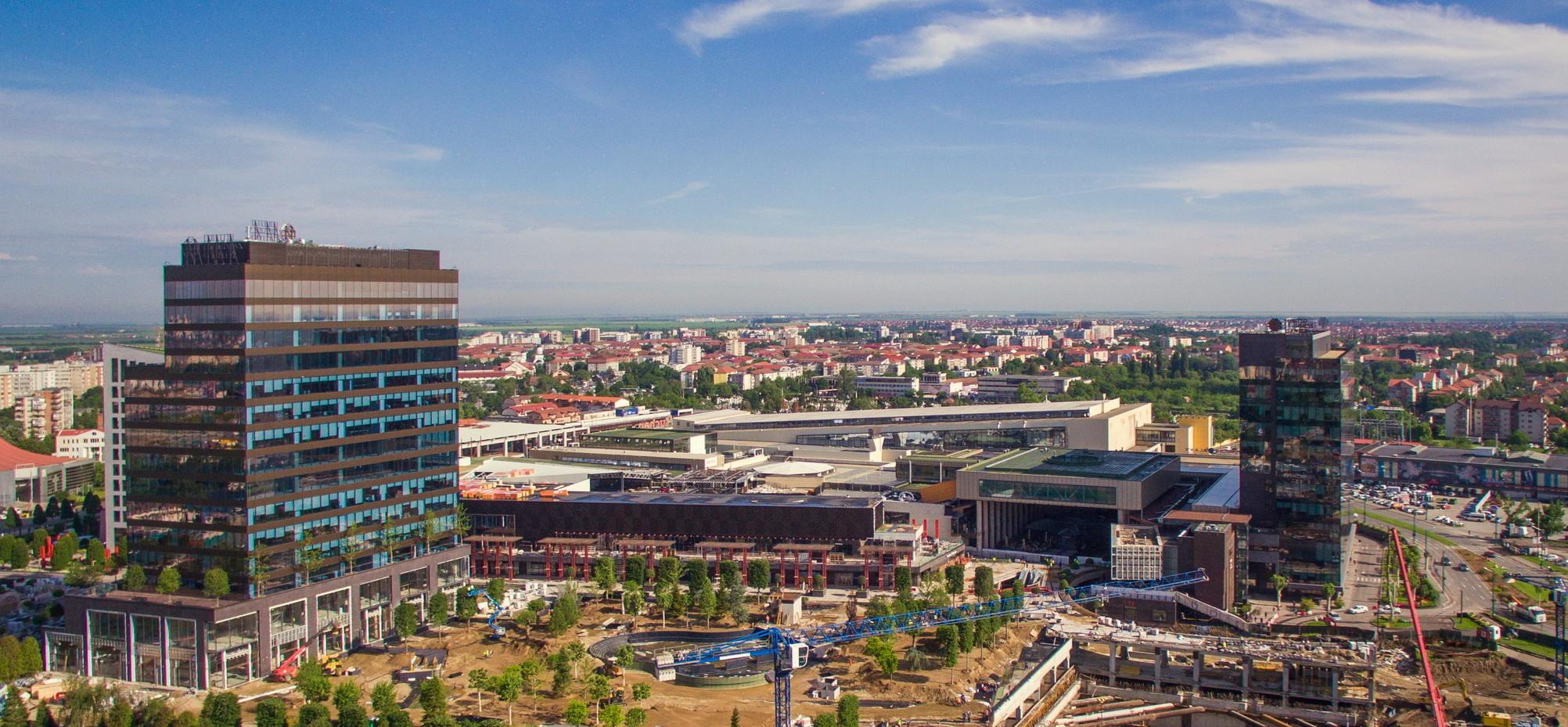 Build Corp, constructorul Iulius Town din Timişoara, afaceri de 163 mil. lei în 2018, în creştere cu 70%