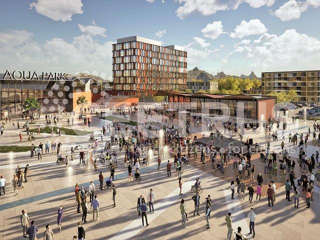 Ceetrus, divizia imobiliară a Auchan, începe un proiect gigant în Reşiţa, cu mall, aquapark, birouri şi hoteluri, a cărui construcţie se întinde pe 15 ani