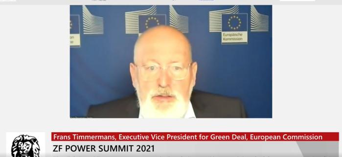 ZF Power Summit 2021. Frans Timmermans, vicepreşedintele executiv al Comisiei Europene: România are un potenţial uriaş pentru energie regenerabilă. Gazul natural ar trebui să fie văzut ca o situaţie de tranziţie, nu ca un scop final