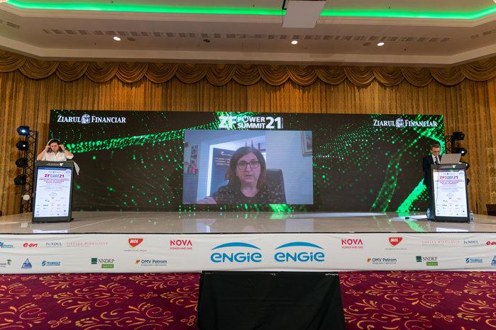 Corina Popescu, CEO Electrica: Cred că România îşi poate arăta maturitatea pe care sectorul energetic le are prin atragerea de fonduri europene. Important este să avem proiecte scrise, să fi valoroase să se poată clasifica în strategia Uniunii