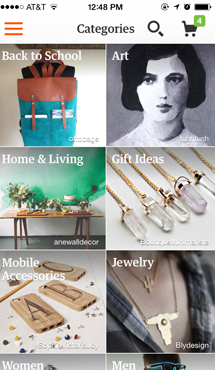 Aplicaţia zilei: Etsy: Shop Handmade, Vintage & Creative Goods