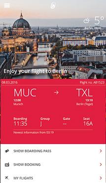Aplicaţia zilei: airberlin – find your flights