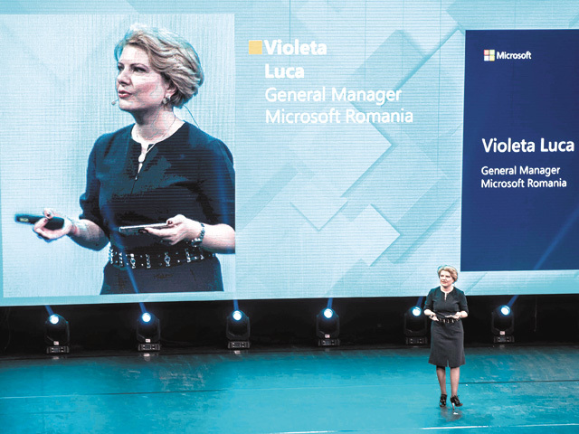 Microsoft Business Summit 2018. Violeta Luca, noul general manager al Microsoft România: Companiile ar trebui să se folosească de tehnologie pentru a se extinde pe noi pieţe. UiPath este un exemplu