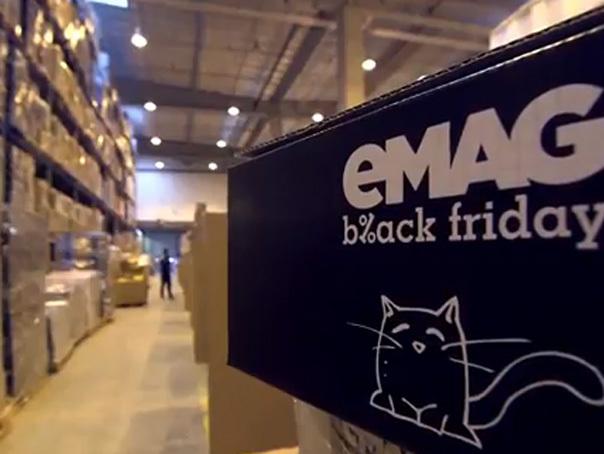 Black Friday 2018 la eMag: Comenzi în valoare de 130.000.000 de lei în prima oră