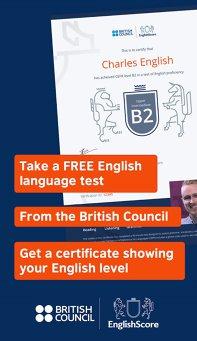 Aplicaţia zilei: EnglishScore: Free British Council English Test