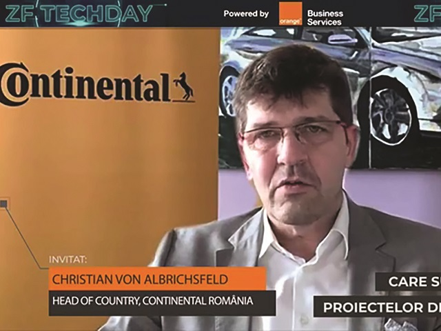 ZF Tech Day. Şeful Continental anunţă că face teste cu tehnologia 5G şi maşini autonome împreună cu Orange şi Nokia