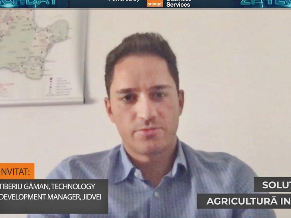 ZF TECH DAY. Tiberiu Găman, Jidvei: Am început implementarea unui proiect de agricultură de precizie în care investiţia totală se va situa la circa 500.000-600.000 euro. De la începutul anilor 2000 şi până în prezent, Jidvei a investit peste 100 milioane de euro în tehnologie şi digitalizare