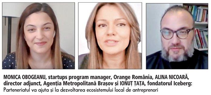 ZF Tech Day. Orange, parteneriat cu Agenţia Metropolitană Braşov şi compania de consultanţă Iceberg pentru susţinerea dezvoltării regiunii şi a antreprenorilor