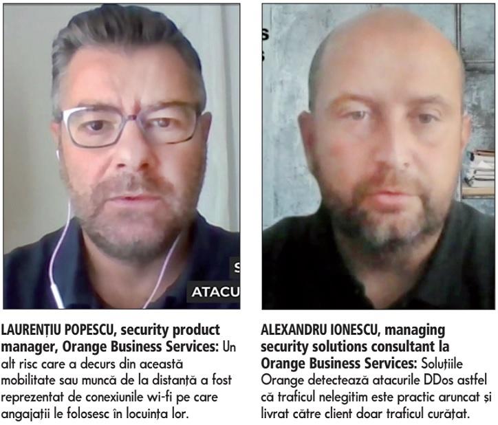 ZF Tech Day. Laurenţiu Popescu, security product manager, Orange Business Services: Munca de la distanţă a deschis noi oportunităţi pentru atacatorii cibernetici