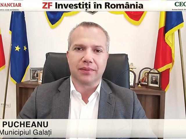 ZF Investiţi în România! Ionuţ Pucheanu, primar, Galaţi: Mai avem 80 de hectare de teren în Zona Liberă, iar spaţiul ar putea fi foarte interesant pentru investitorii non-UE