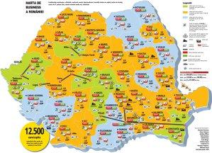 Harta de business a României (2014)