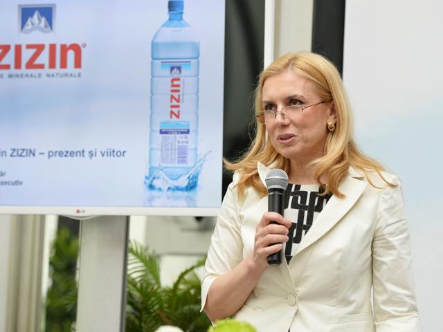 Vânzările brandului de apă minerală Zizin au urcat cu 37% anul trecut