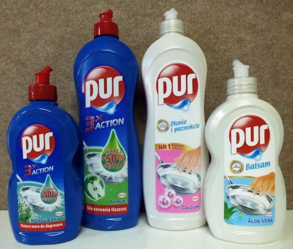 Pur, Fairy şi Axion controlează piaţa de 183,5 milioane de lei a detergenţilor de vase