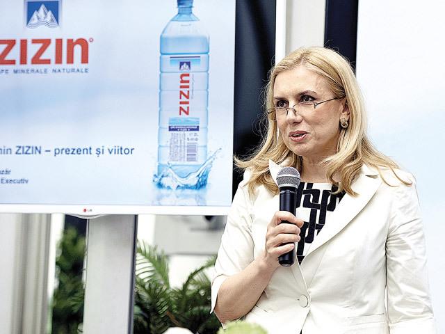 Producţia brandului de apă minerală Zizin a crescut cu 20% în S1 2017. Am investit mai mult în acest brand şi am renunţat la contractele de marcă proprie