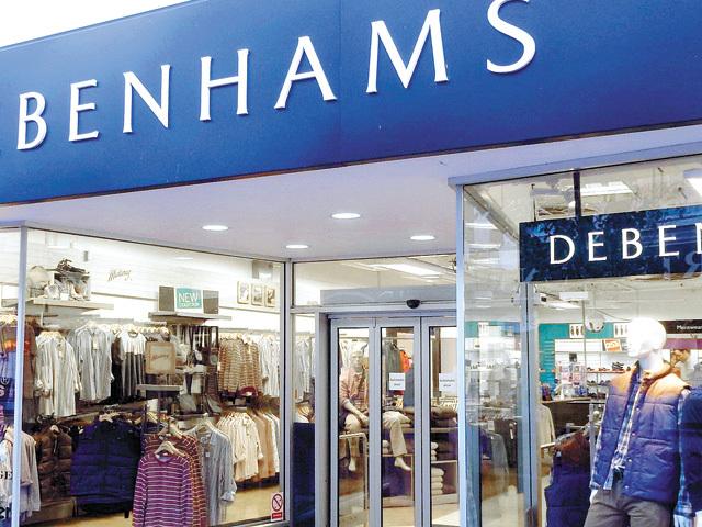 Analiză. Retailerul britanic Debenhams produce haine, pantofi şi articole de mobilier în 14 fabrici din România cu 3.300 de salariaţi