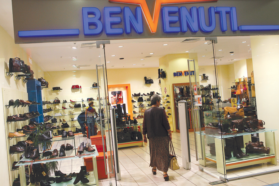Afacerile retailerului de încălţăminte Benvenuti au ajuns în 2018 la 130,5 mil. lei, plus 5%