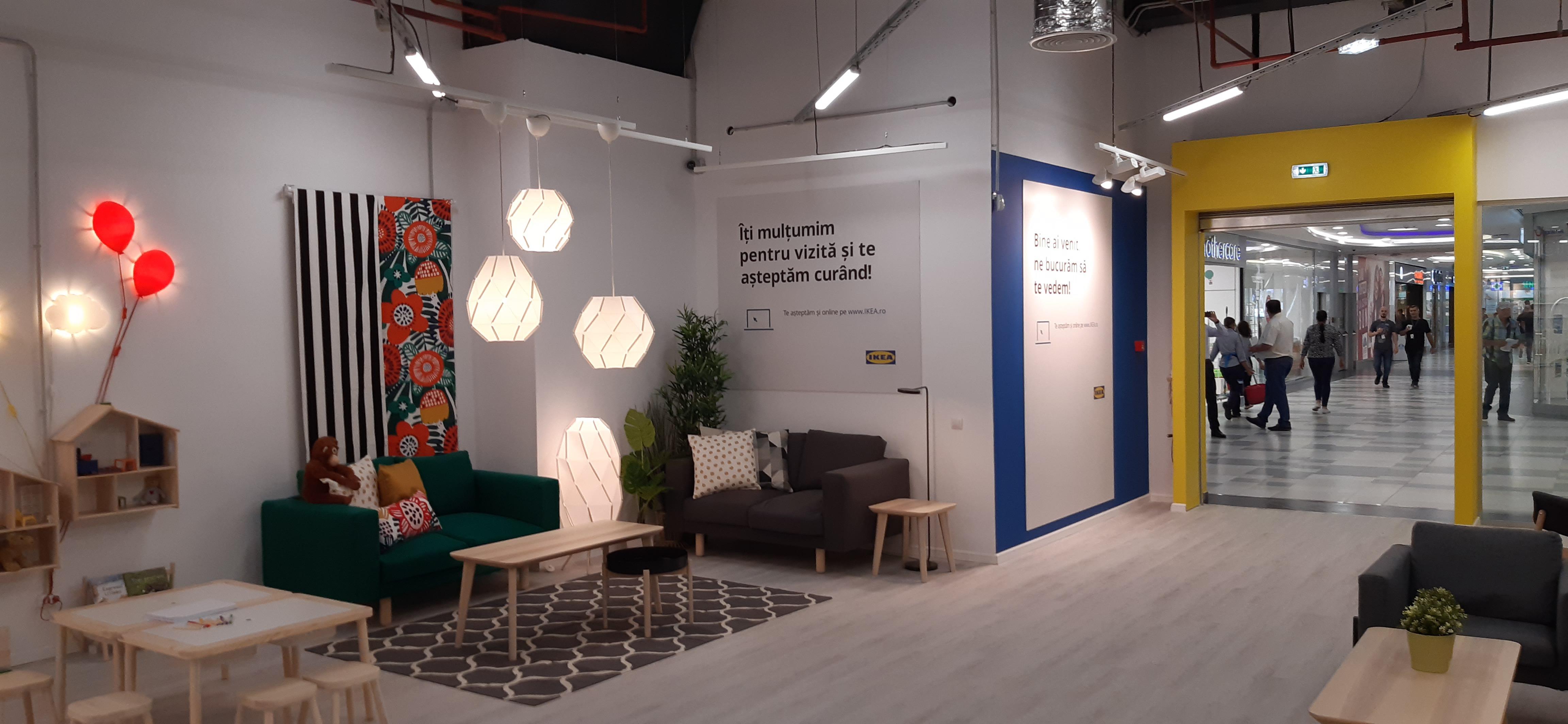 Ikea a inaugurat al patrulea punct de colectare a comenzilor online, în Mall Plaza Bucureşti, şi vrea un centru similar şi la Iaşi