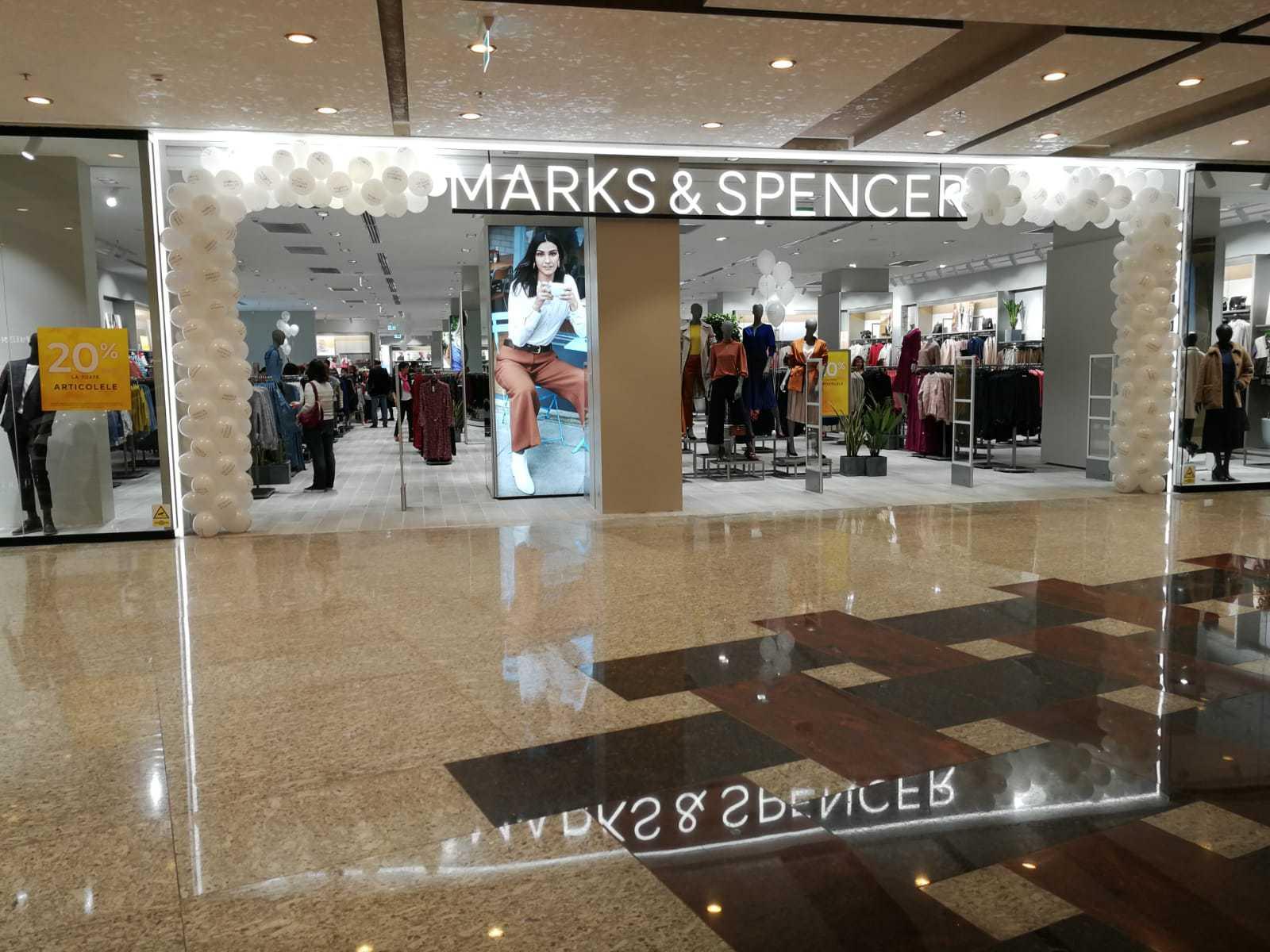 Compania cipriotă Voici la Mode duce brandul britanic Marks&Spencer la Timişoara, cu un magazin în Iulius Town