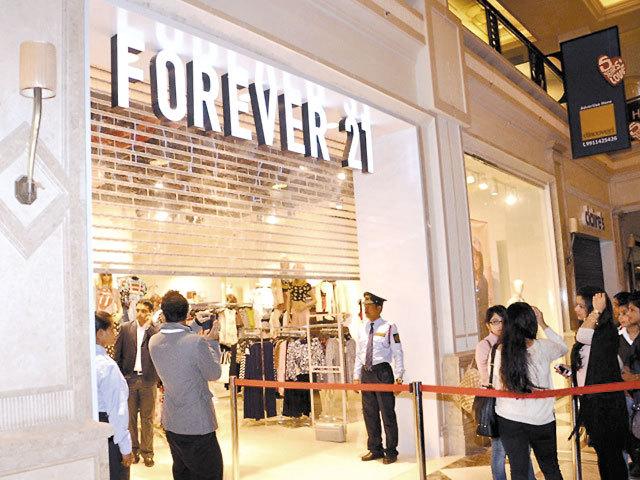 Forever 21 a închis magazinul din mallul Sun Plaza din Bucureşti