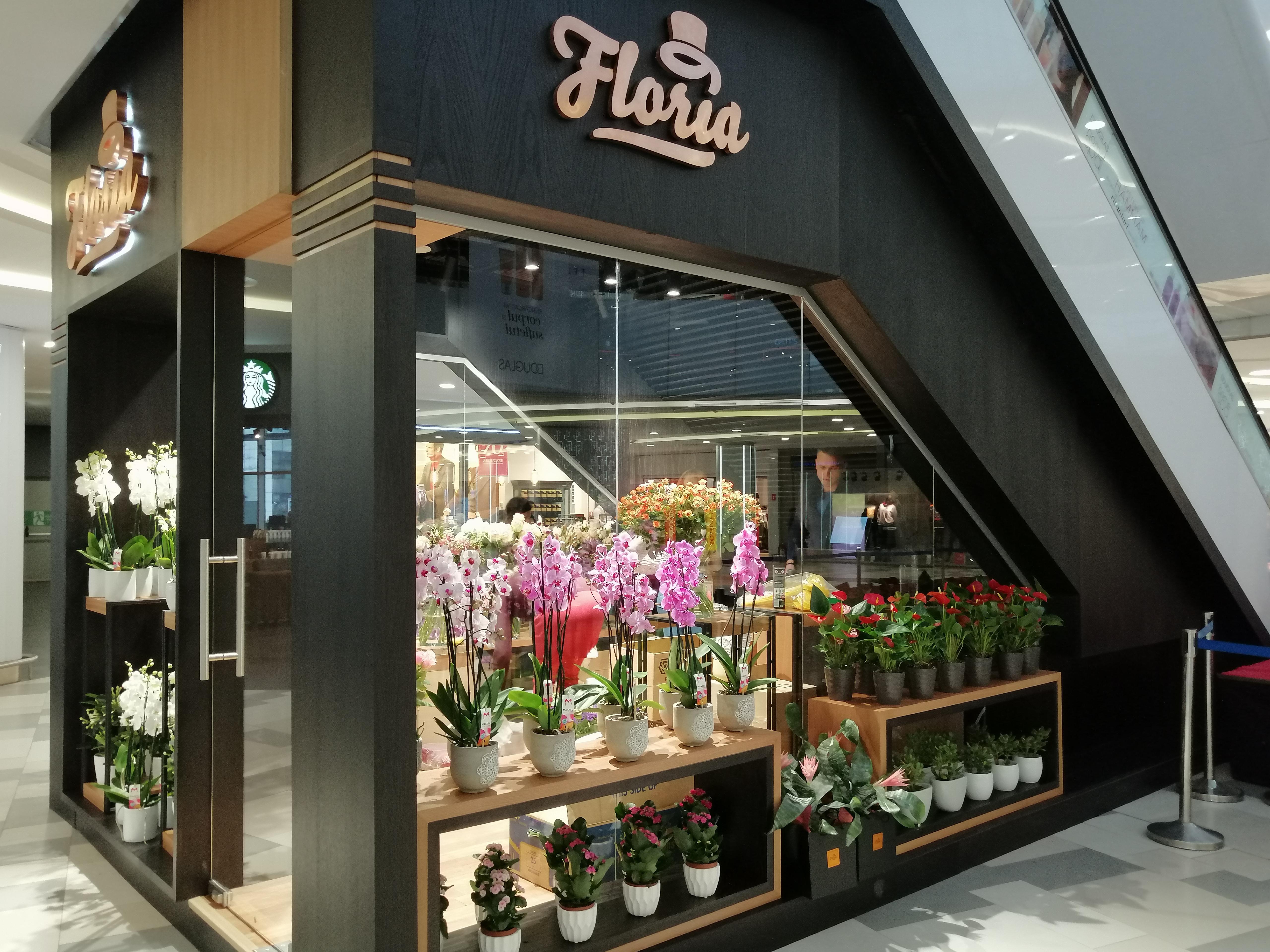 Grupul Floria a deschis o florărie în centrul comercial Plaza din Bucureşti după o investiţie de 50.000 de euro