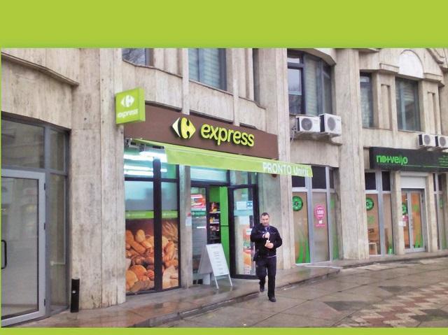 Un antreprenor care deţine 15 magazine de proximitate Carrefour express în franciză face afaceri de 38 mil. lei: Avem 10.000 de clienţi pe zi