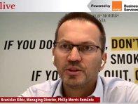 ZF Live. Branislav Bibic, managing director al Philip Morris România: Am investit jumătate de miliard de euro în modernizarea fabricii. O mare parte din produsele fabricate în Otopeni merg la export