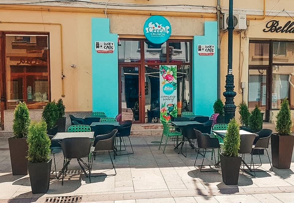Cereal Crunch deschide prima franciză a grupului în Craiova, după o investiţie de 40.000 de euro. Radu Savopol, co-fondator Cereal Crunch & 5 to go: Estimăm să ajungem la un număr de 70-100 de bonuri zilnic