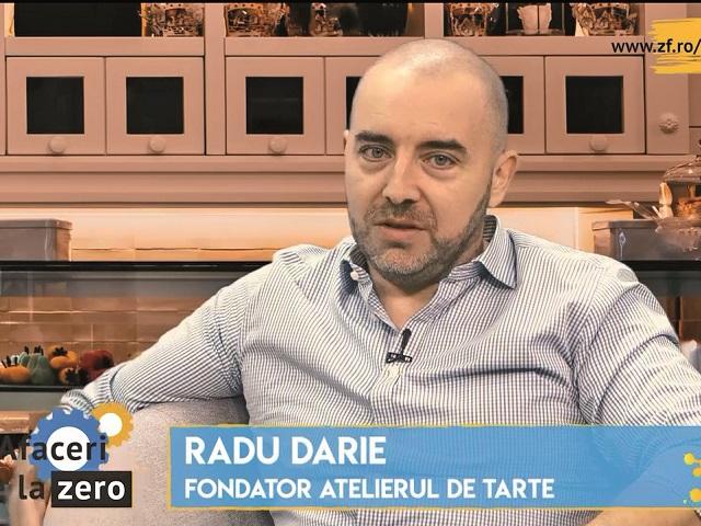 ZF 15 minute cu un antreprenor. Radu Darie, cofondator Atelierul de Tarte:  Anul acesta cifra de afaceri va fi probabil la nivelul din 2019, dar  profitabilitatea va fi cu siguranţă afectată, în