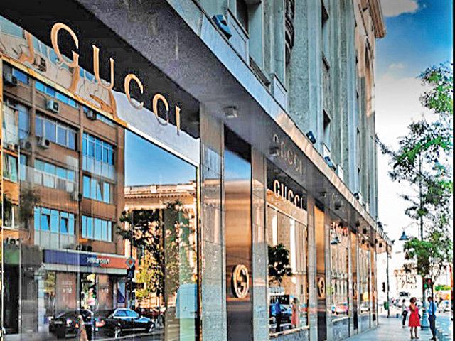Luxul, imun la pandemie: magazinul Gucci de la parterul hotelului Athénée Palace Hilton din Bucureşti şi-a majorat vânzările cu 10% în 2020
