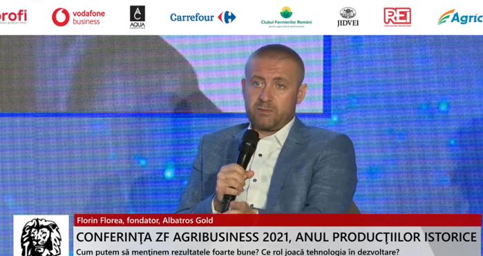 ZF Agribusiness 2021. Anul producţiilor istorice. Florin Florea, fondator, Albatros Gold: Lucrăm la o fabrică pentru a transforma dejecţiile pe care le obţinem în urma creşterii găinilor ouătoare în compost